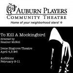 OPEN AUDITIONS – TO KILL A MOCKINGBIRD