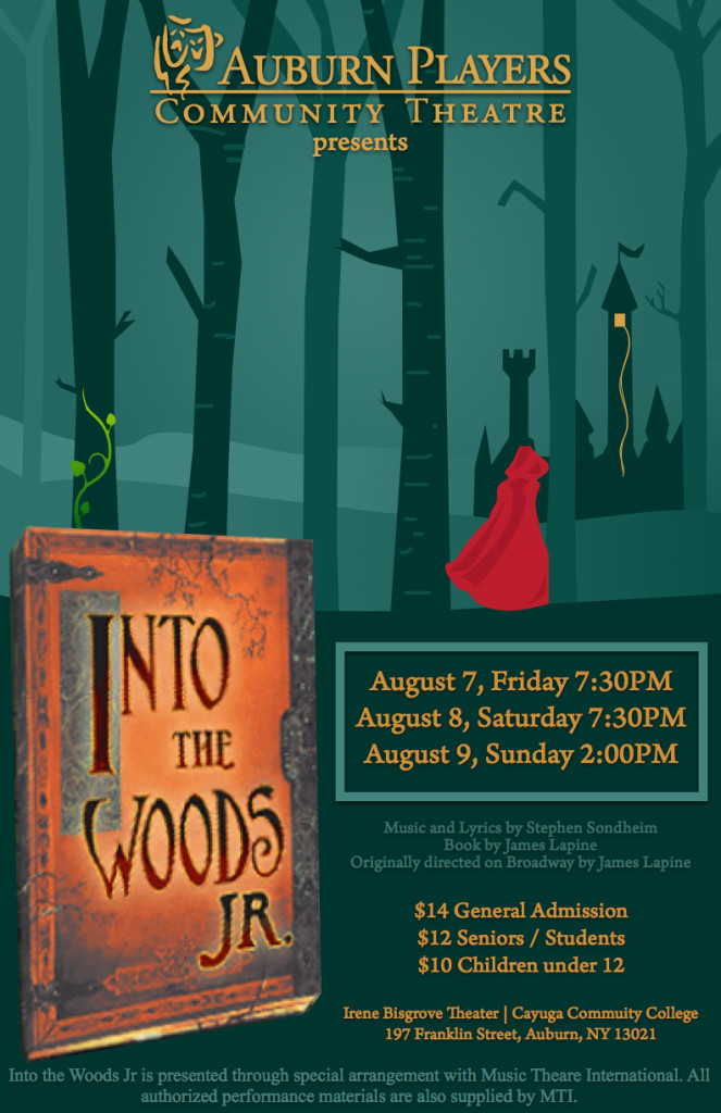 Into The Woods Jr Poster